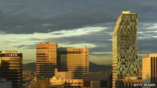 File photo of Seoul skyline