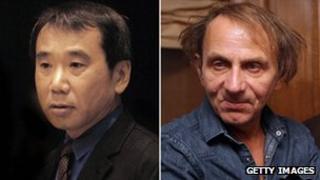 Haruki Murakami and Michel Houllebecq