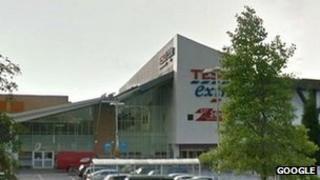 Tesco building