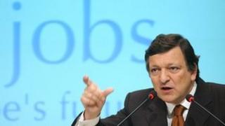 European Union Commission President Jose Manuel Barroso