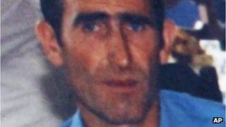 Ljubisa Bogdanovic, who police say shot dead 13 people in a Serbian village