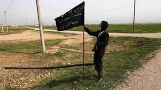 Al-Nusra fighter