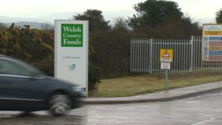 Welsh Country Foods plant