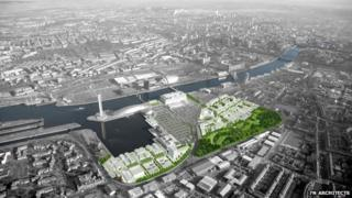 Pacific Quay Masterplan 2011