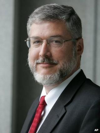 Former US vice-presidential chief of staff David Addington - 2005 photo