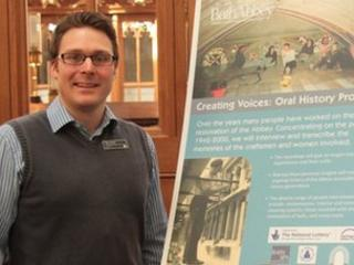 Dr Oliver Taylor - Oral History Project Manager at Bath Abbey