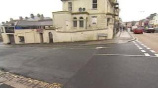 Plymouth attack scene