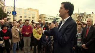 Ed Miliband in Cambridge