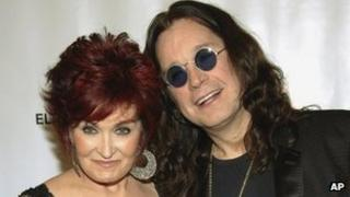 Sharon and Ozzy Osbourne in 2007
