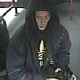 CCTV of a person police want to trace
