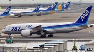 An All Nippon Airways Boeing 787