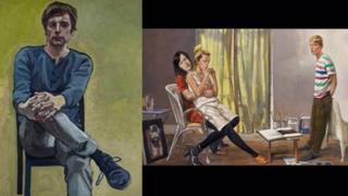 Paintings by Susanne du Toit and John Devane