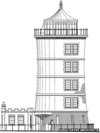 Glastonbury Carpenter Has Lighthouse Home Plan Bbc News