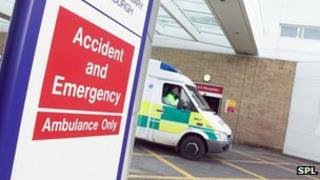 Accident and emergency unit