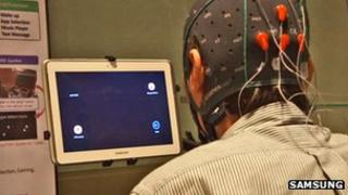 Samsung trial mind-controlled tablet