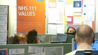 111 call centre