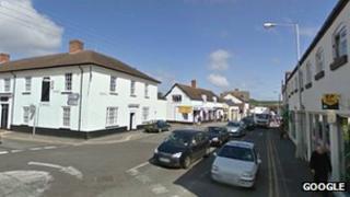 Williton village centre