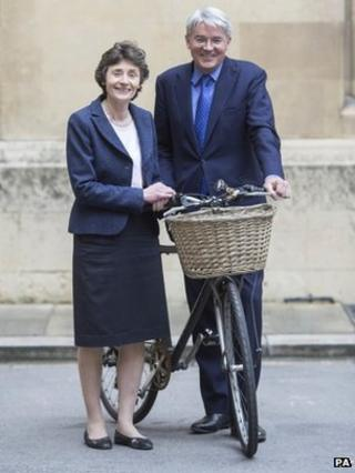 Andrew Mitchell and Baroness Estelle Morris