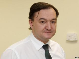 The late Sergei Magnitsky, who died in custody in Russia while investigating corruption (image from 2006)