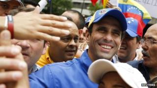 Henrique Capriles, 1 May 2013