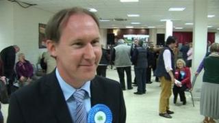 John Osman, leader of Somerset County Council