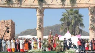 The Gupta family wedding