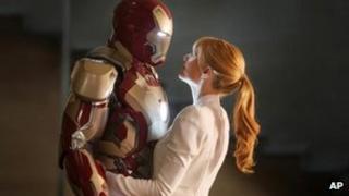 Iron Man 3, with Gwyneth Paltrow