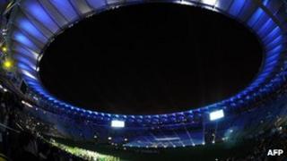 Refurbished Maracana stadium