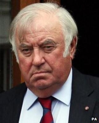 Jimmy Tarbuck, pictured in 2011