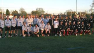 All the players that took part