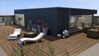Penthouse sun terrace