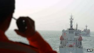 "Taiwan's coast guard helped the fishing crew which came under attack from a Philippine ""military vessel""."
