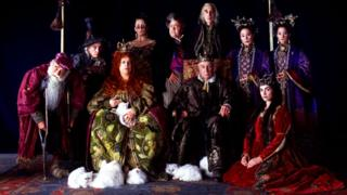Cast of Gormenghast TV adaptation