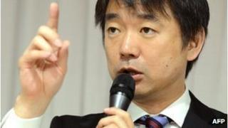 File photo of Toru Hashimoto, November 2012