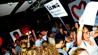 Friday I'm in Love club night