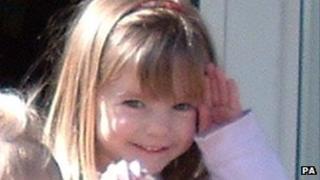 Madeleine McCann, undated. Family handout