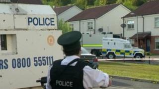 Police officer at Foxes Glen alert