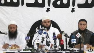 Ansar al-Sharia spokesman Seifeddine Rais. 16 May 2013