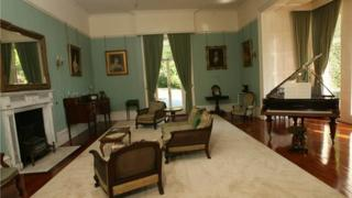 Interior of Mourne Park House