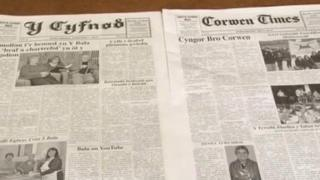 Y Cyfnod and Corwen Times