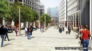Proposed Friargate development