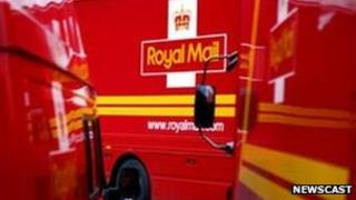 Royal Mail's parcel delivery business provided almost half of group sales
