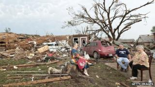 Moore residents