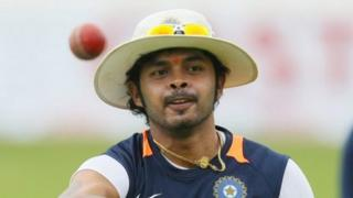 Indian cricketer Shantakumaran Sreesanth
