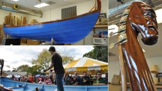 Harp skiff