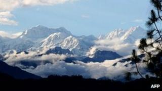 File photo of Mt Kanchenjunga