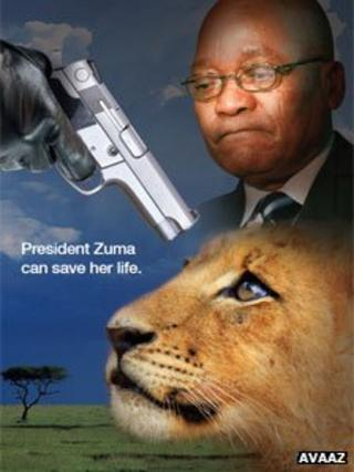 "Advert to ""save"" lions"