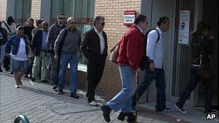 Madrid jobs queue