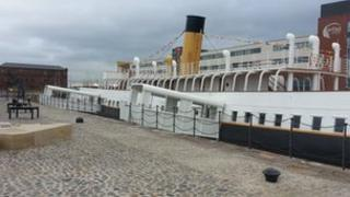 Nomadic in dock