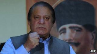 Pakistan's incoming Prime Minister Nawaz Sharif